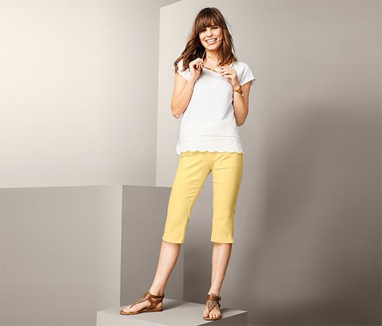 Trojštvrťové elastické nohavice
