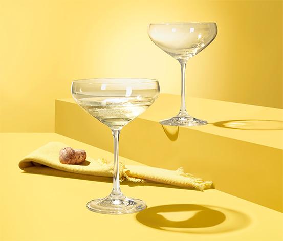 2 Champagnergläser