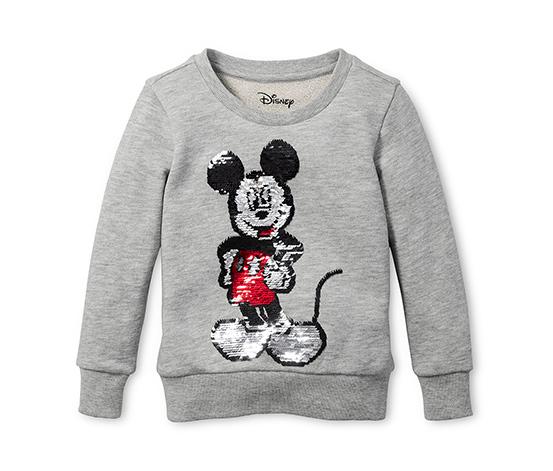 Mikina Disney s oboustrannými pajetkami