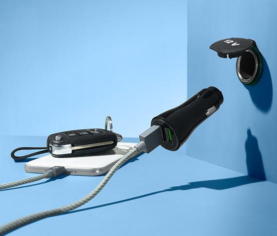 Auto-Steckdose mit USB-Anschluss