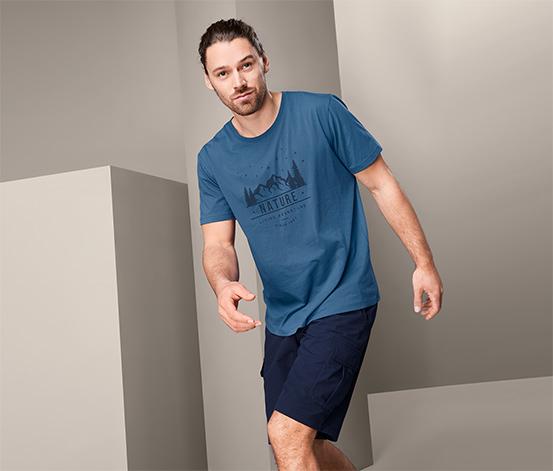 Męska koszulka funkcyjna z nadrukiem
