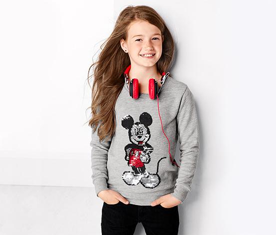 Bluza dziecięca »Disney«, z dwustronnymi cekinami
