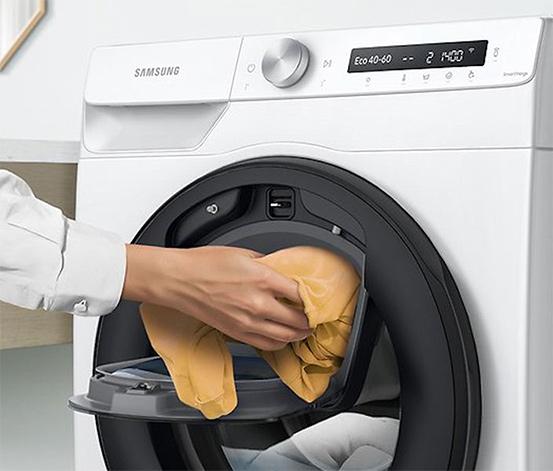 Tchibo Samsung-Waschmaschine »WW7QT4543AE/EG«, 7 kg, 1.400 U/Min., Energieeffizienzklasse D (von A bis G)