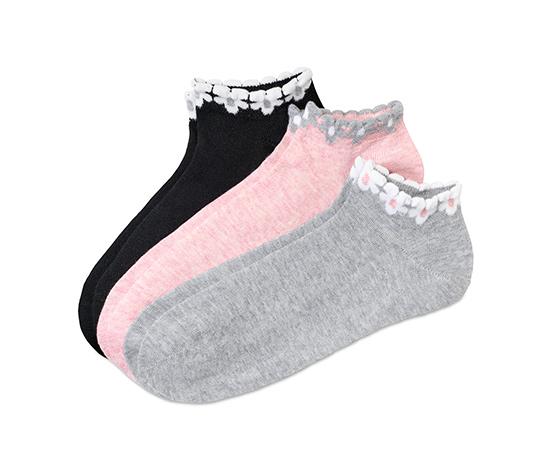 Krátké ponožky, 3 páry