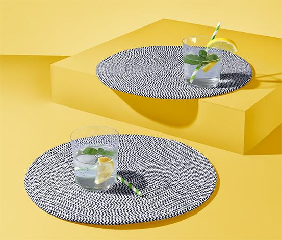 Bawełniane podkładki pod talerze, 2 sztuki