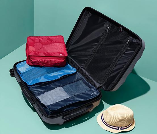 Komplet 3 organizerów podróżnych