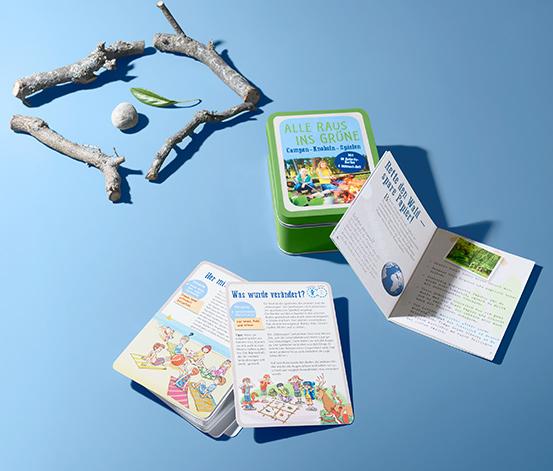 Outdoor-Spiele-Box »Alle raus ins Grüne«