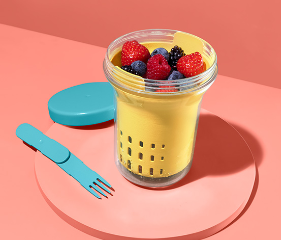 Früchte- und Salat-Box