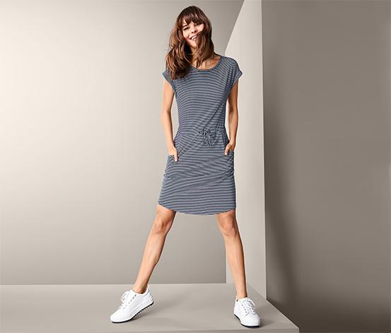 Damska sukienka outdoorowa w paski