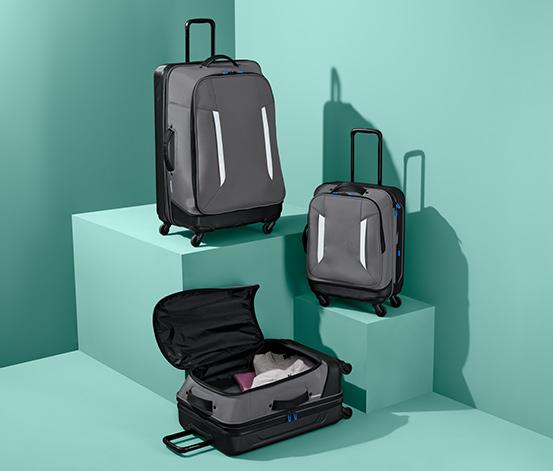 Hybridní kufr, střední