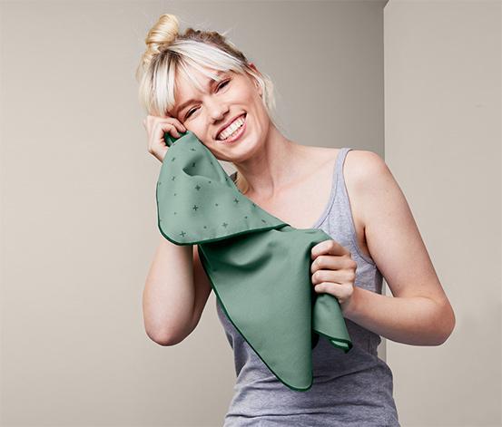 Outdoorové ručníky, 2 ks, každý cca 40 x 60 cm
