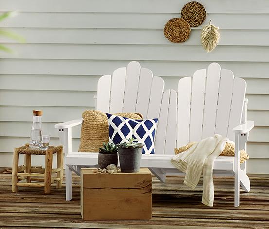 Loungebank aus FSC®-zertifiziertem Akazienholz