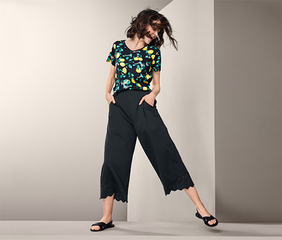 Kalhoty culotte