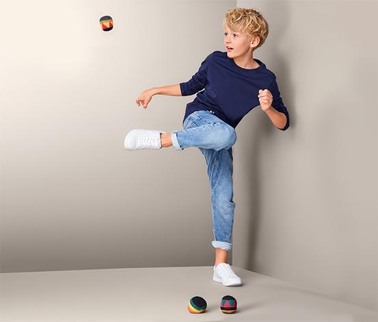 Loptičky na footbag a žonglovanie, 3 ks