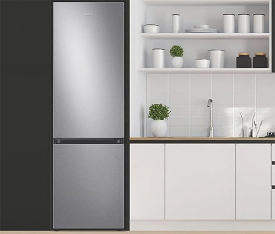 Tchibo Samsung-Kühl-Gefrier-Kombination »RL36T600CSA/EG«, Energieeffizienzklasse C (von A-G), 365 l