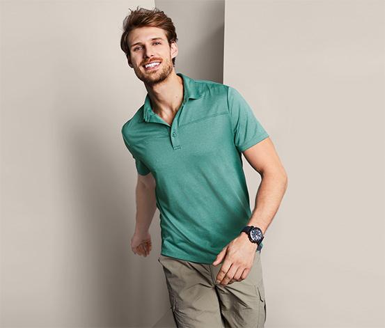 Męska funkcyjna koszulka polo