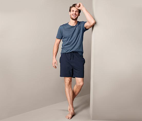 Męska piżama ze spodenkami