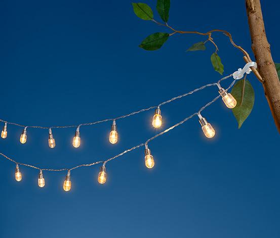 Svetelná reťaz s LED »Malé žiarovky«
