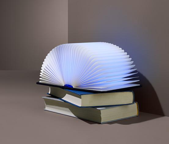 """Dekorační svítidlo s LED a barevným přechodem """"Kniha"""""""