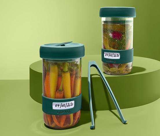 Lékué-Fermentations-Gläser-Set