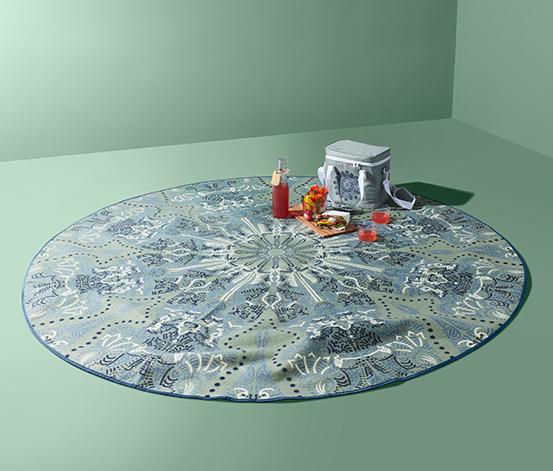 Kruhová pikniková deka XL