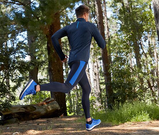 Férfi futónadrág, kék