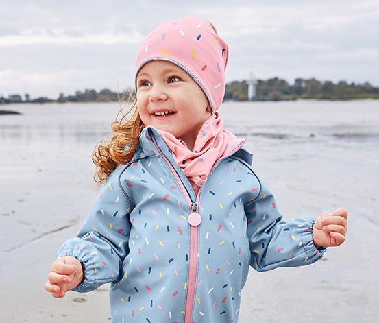 Gyerek multifunkcionális kendő, rózsaszín