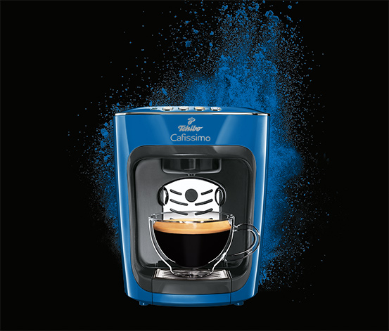 Cafissimo mini electric blue