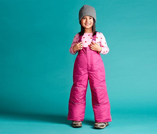 Oteplovací kalhoty, růžové