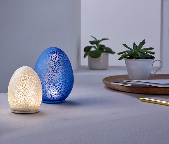 2 LED-pynteæg