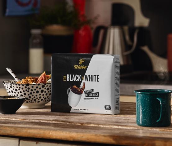 FOR BLACK ´N WHITE - 9 x 500 g Gemahlen