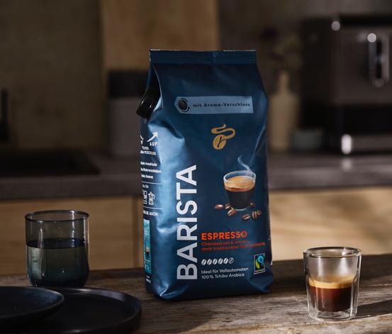 Barista Espresso - Ganze Bohne