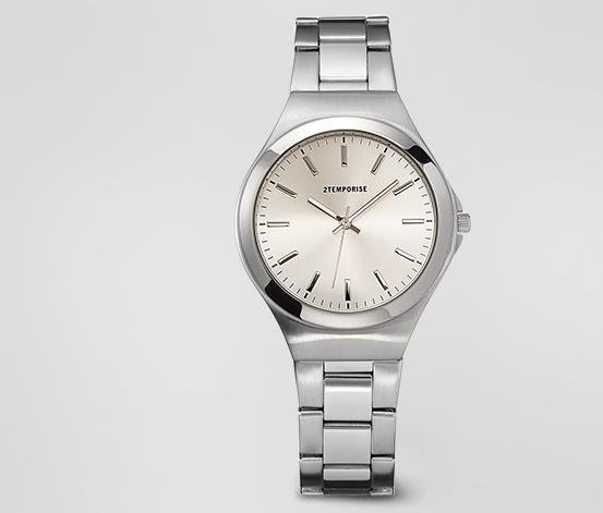 Pánské náramkové hodinky z ušlechtilé oceli