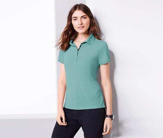 Su Yeşili Dryactive Plus Fonksiyonel Polo Tişört