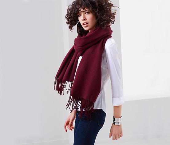 XL vævet tørklæde