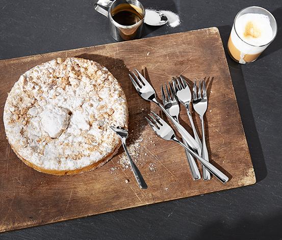 6'lı Pasta Çatalı Seti
