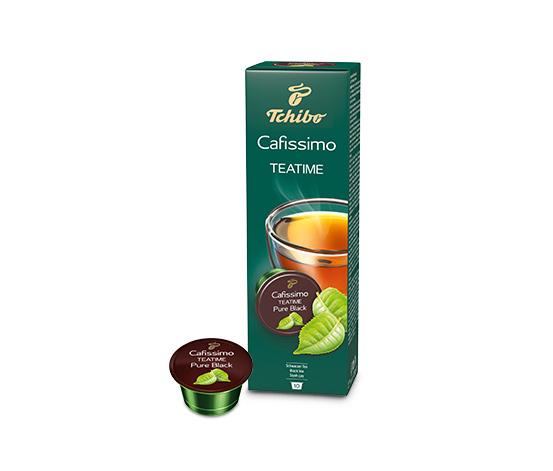 Teatime Pure Black 10'lu Siyah Çay Kapsülü
