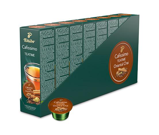 NEU: CAFISSIMO TEATIME Oriental Chai – 80 Kapseln