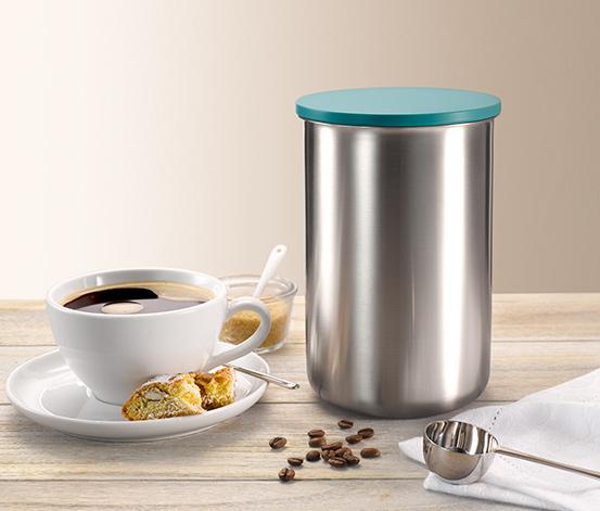 Puszka na kawę, niebieska, 500 g