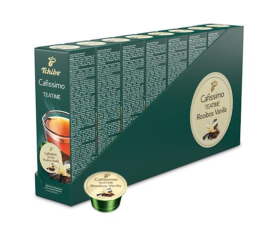 TEATIME Rooibos Vanilla - 80 Kapseln