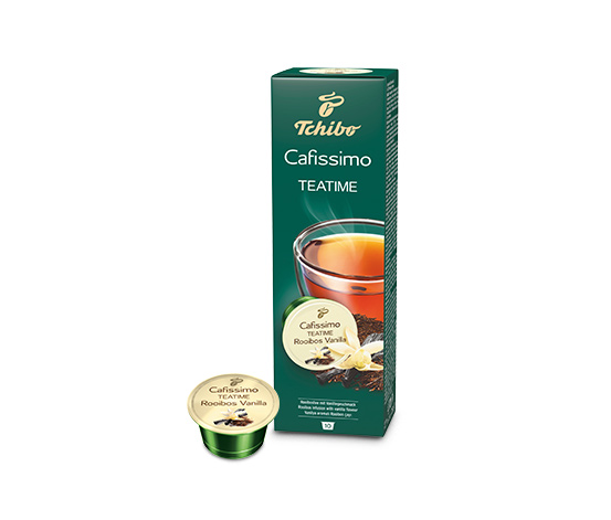 TEATIME Rooibos Vanilla – 10 capsules