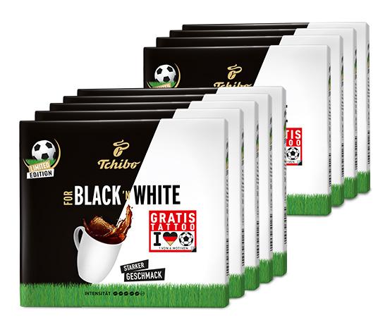 FOR BLACK ´N WHITE - 9 x 500g Gemahlen