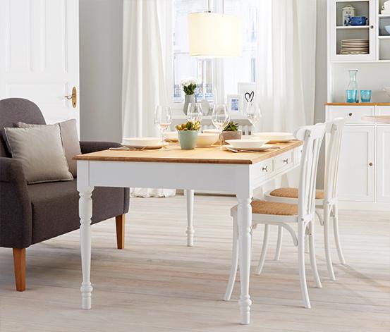 Jídelní stůl se zásuvkami