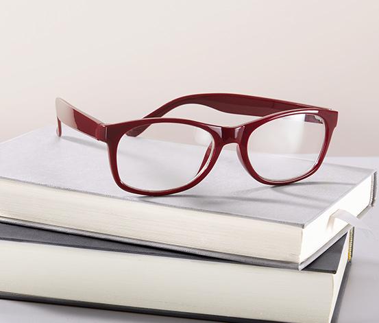Zapasowe okulary do czytania, czerwone