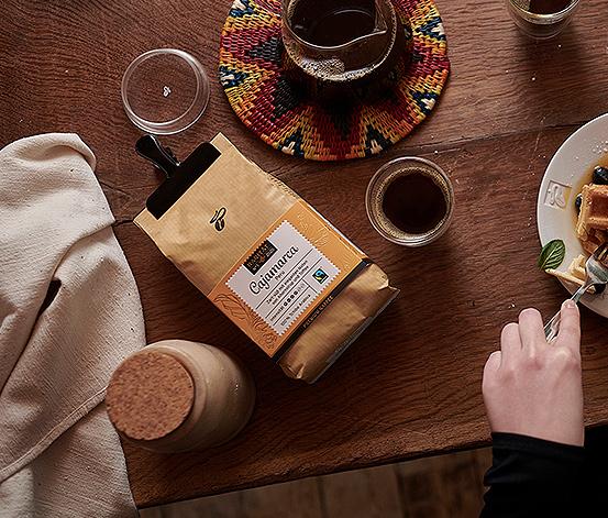 »Cajamarca Peru« Privat Kaffee Rarität, 10 x 500 g szemes kávé