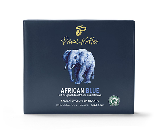 Privat Kaffee African Blue Öğütülmüş Filtre Kahve 2x250g