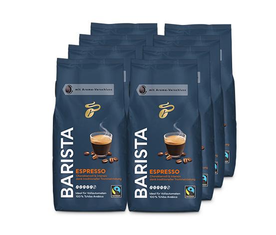 Barista Espresso – 8 x 1 kg hela bönor