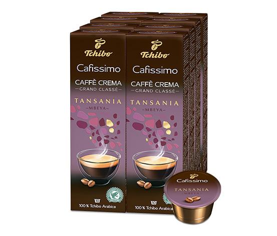 NEU: Grand Classé Caffè Crema Tansania Mbeya– 80 Kapseln