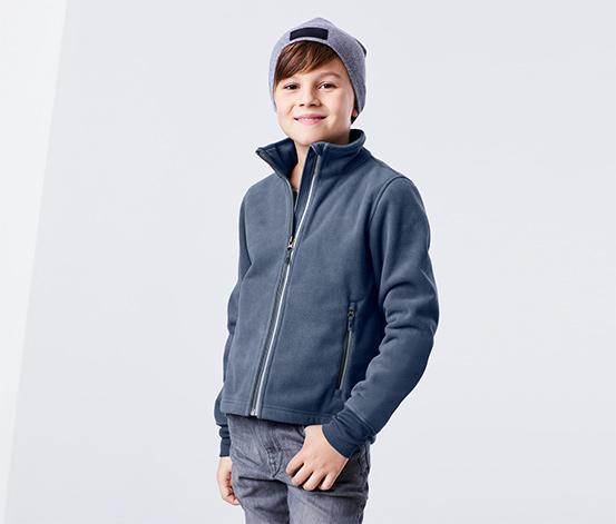 Fiú funkcionális polár dzseki, kék