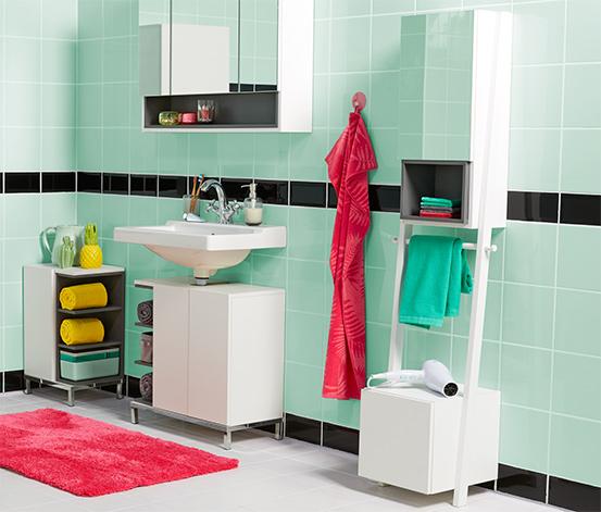 Zrcadlová skříňka s držákem ručníků »Vario-Look«